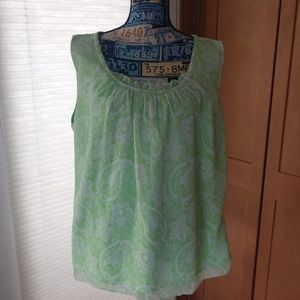 3/$20 George me green blouse